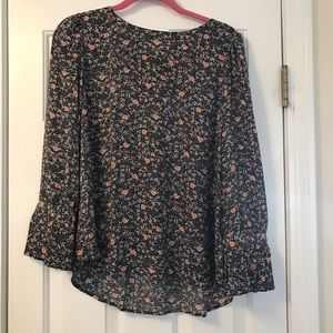 Floral Woven Top from Loft